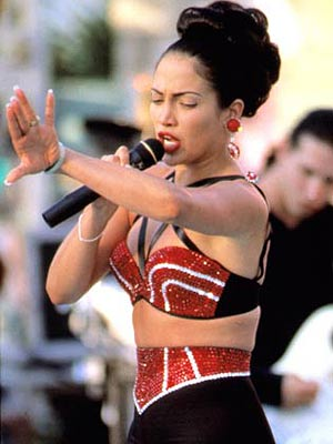Jennifer Lopez as Selena Peliculas Biograficas vs Mundo Real (parte 2)