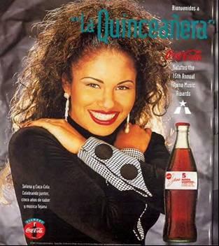 Selena And Coca Cola